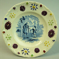 Platters Victorian Date-Lined Ceramics (Pre-c.1840)