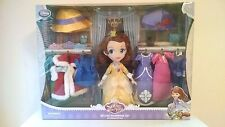 SOLD OUT! NEW Disney Store Sofia the First Doll DELUXE WARDROBE SET Sophia