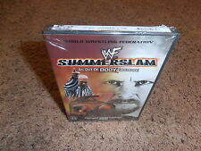 SUMMERSLAM 1999 wwf dvd USA RELEASE BRAND NEW SEALED wwe