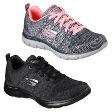 Zapatillas deportivas de mujer textiles Flex Appeal color principal negro