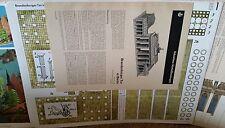JFS Paper Model Brandenburg Tor In Berlin Printed in Germany