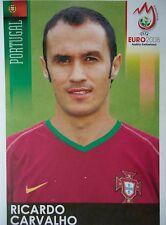 Panini 105 Ricardo Carvalho Portugal UEFA Euro 2008