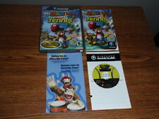 Mario Power Tennis Nintendo Game Cube Game Complete