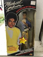 NIB Michael Jackson LJN Doll GRAMMY AWARDS Outfit 1984 Superstar 80s Rare