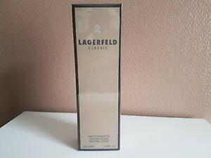 (100ml 26,95€) Lagerfeld Classic Eau de Toilette Natural Spray 100 ml neu