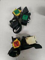 97-04 Corvette C5 OEM Driver and  Passenger side Seat Belt BLACK set  1503-15