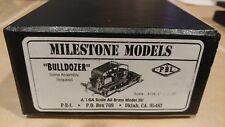 "*RARE* PBL ""Bulldozer"" - 1:64 S Scale All Brass Model KIt"
