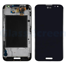 LG Optimus G Pro E980 LCD Screen Digitizer with Frame Black AT&T