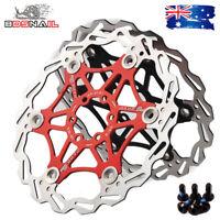 SNAIL 160,180,203mm Floating Rotor MTB Bike Disc Brake 6 Bolts Rotor Caliper CNC