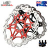 SNAIL 160,180,203mm Floating Rotor MTB Bike Disc Brake 6 Bolts Rotor Caliper CNC