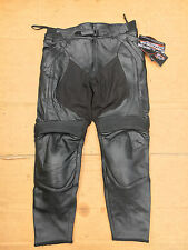 "RST Madison Ladies Leather Motorcycle Jeans Trousers UK 20 or 38"" Waist  No91"