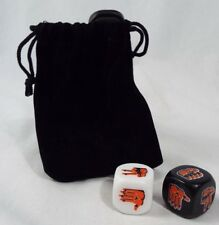 Lootcrate Exclusive Rock Paper Scissors Dice Game With Velvet Bag