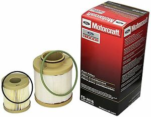 Motorcraft Ford F Series 6.0L Powerstroke Turbo Diesel Fuel Filter New FD4616