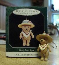 Teddy-Bear Style #2 Hallmark 1998 QXM5954