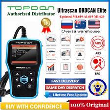 TOPDON OBDCAN Elite Code Reader OBD2 OBDII Car Check Engine Light  Scanner Tool