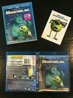 Disney's Monsters, Inc. Collector's Edition (Blu-ray/DVD, 2013, 3-Disc Set)