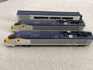 Hornby 00 Gauge Eurostar Trains