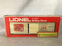 Lionel O Scale 1018-1979 TCA Mortgage Burning Ceremony