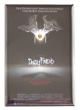 Deadly Friend FRIDGE MAGNET (2.5 x 3.5 inches) movie poster