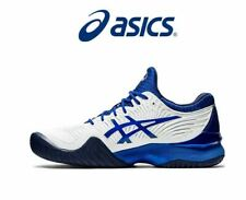 Asics Court FF NOVAK Tennis Shoes,WHITE/ASICS BLUE Limited Edition