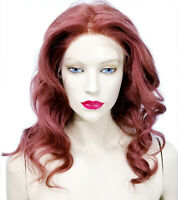 Full Lace Wig Glueless Human Hair Auburn Red IN STOCK
