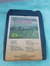 Roger Miller Country 8track tape Cartridge
