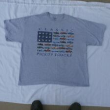 Classic Chevrolet pickup truck  T-Shirt XXXL 90% cotton 10% polyester