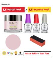 SNS Gelous Nail Dipping Powder Kit ( #021) Angel Pink, 5pcs, Free Post