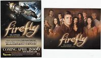 PROMO CARD FIREFLY COMPLETE COLLECTION P-1