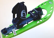 Set, Paar, Morpho Trimoette Light Schneeschuh grün/grau mit Fußgelenk-Schnalle