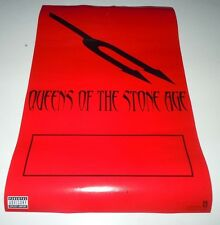 Queens Of The Stone Age~Songs For The Deaf~Promo Poster~11x17~Excellent~20 02
