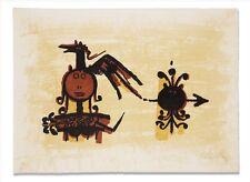 Wifredo Lam litho, signed, numbered, rare, & gorgeous - El Ultimo Viaje V