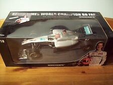 1/18 MERCEDES 2010 SHOWCAR MICHAEL SCHUMACHER COMEBACK