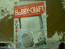 THE CANADIAN HOBBY-CRAFT MAG - March - April 1948 - Vol. 2 No. 6