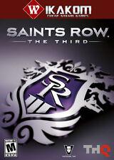 Saints ROW: il TERZO a vapore digitale nessun disco/Box ** CONSEGNA VELOCE! * *