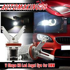 2x 20W Angel Eyes LED Marker Light H8 for BMW E60 E70 E71 E82 E90 E92 X5