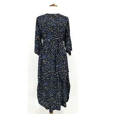 Stockholm Atelier and Other Stories Sz 4 Black Circle Print Dress Sz M