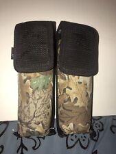 VIEWLOADER VL Paintball 2 Tube Holder Camouflage/Black Belt Strap (APP) NEW