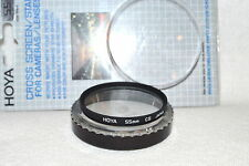 Hoya NEW 55 mm Cross Screen/Star Screw-In Filter with Case Made in Japan (M45)