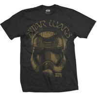 Official Star Wars First Order Trooper Stormtrooper men Black tshirt