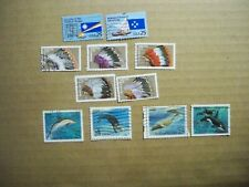 USA Used, 1990 issues, 3 Sentenant Sets (11 Stamps).