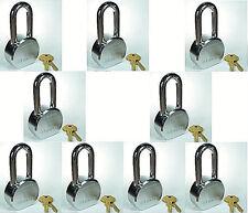 Lock Set by Master 6230KALH (Lot 9) KEYED ALIKE Long Shackle Solid Steel Body