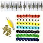 56 Bearing Wheels Nuts  10 Trucks For 96mm Skateboard Fingerboard Accessory Toy