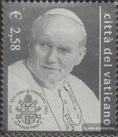 Vatikanstadt 1428 (kompl.Ausg.), auf Silberfolie gedruckt postfrisch 2003 Jubilä