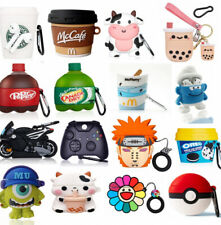 Cute 3D Cartoon Airpod Silicone Case Cover For Apple AirPods 1 2 Pro Accessories
