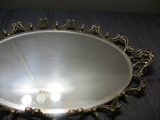 New listing Antique/Vtg Royal Matson Unsigned Vanity/Mirror/Perfume Tray Art Nouveau Gilded