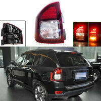 Left Driver Side For 2014-2017 Jeep Compass Rear Tail Stop Brake Light Fog Lamp