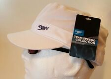 Speedo USA Women's White Adjustable Military Hat