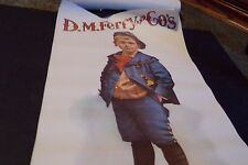 D.M. Ferry Company Advertising Poster Standard Feed For Sale Little Boy Vintage?