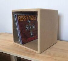 "Handmade Vinyl Storage Crate/Box 7"" Single 45 RPM Vinyl Record Modern"